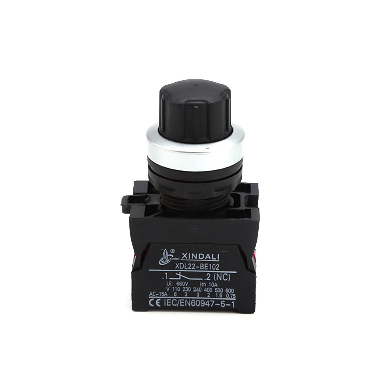 Waterproof push button switch selector switch 3 way waterproof IP67 XDL22-ESW542