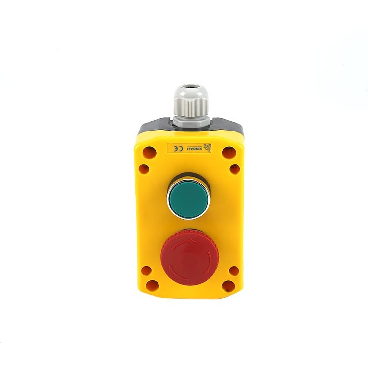 Controlboxes Emergencystopbuttons remote control switch 2 button waterproof IP65 XDL721-JB261P