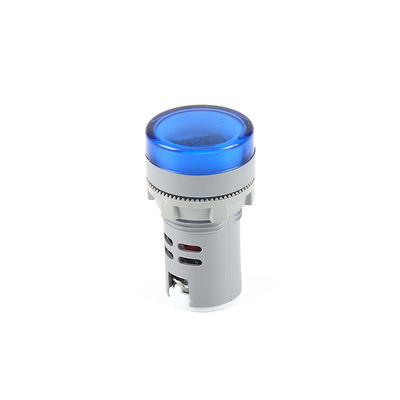 Indicator Lights volmeter small indicator lights blue AD22-22DS
