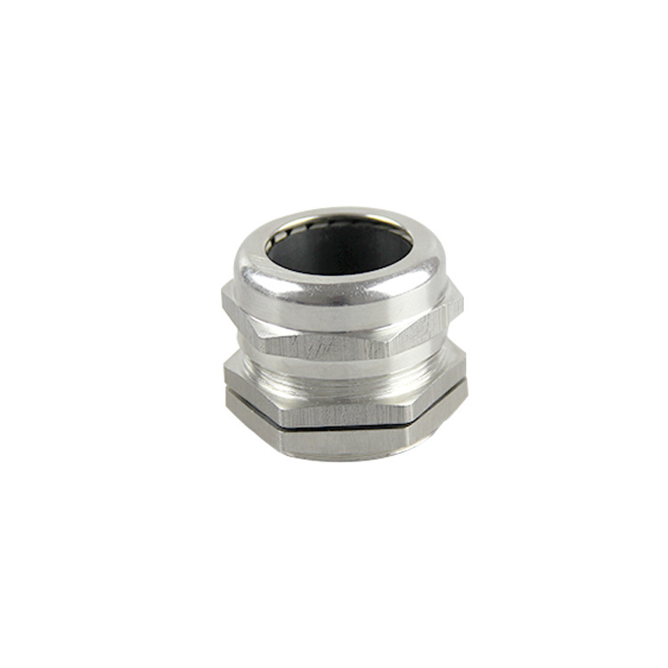 Brass cable gland waterproof metal cable gland nickel plated brass cable gland PG-LENGTH PG