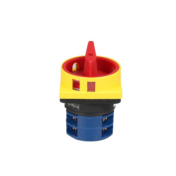 Máquina de soldadura de control de interruptor de interruptor de cambio de cámara rotativa Cambio de soldadura eléctrica 20A 3P LW126GS-160