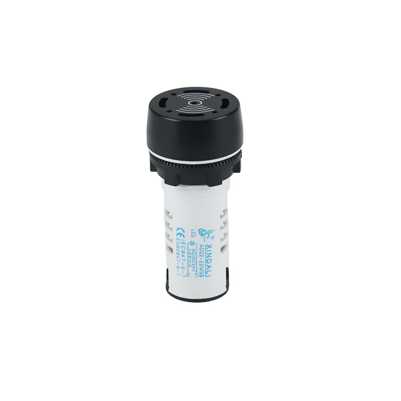 small electronic yueqing xindali indicator light with buzzer AD22-22MFB