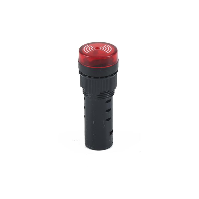 indicator light with buzzer 12v indicator light and buzzer AD22-16MSD