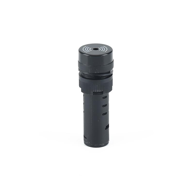 sound buzzer plastic black warning indicator sound buzzer AD22-16MFD