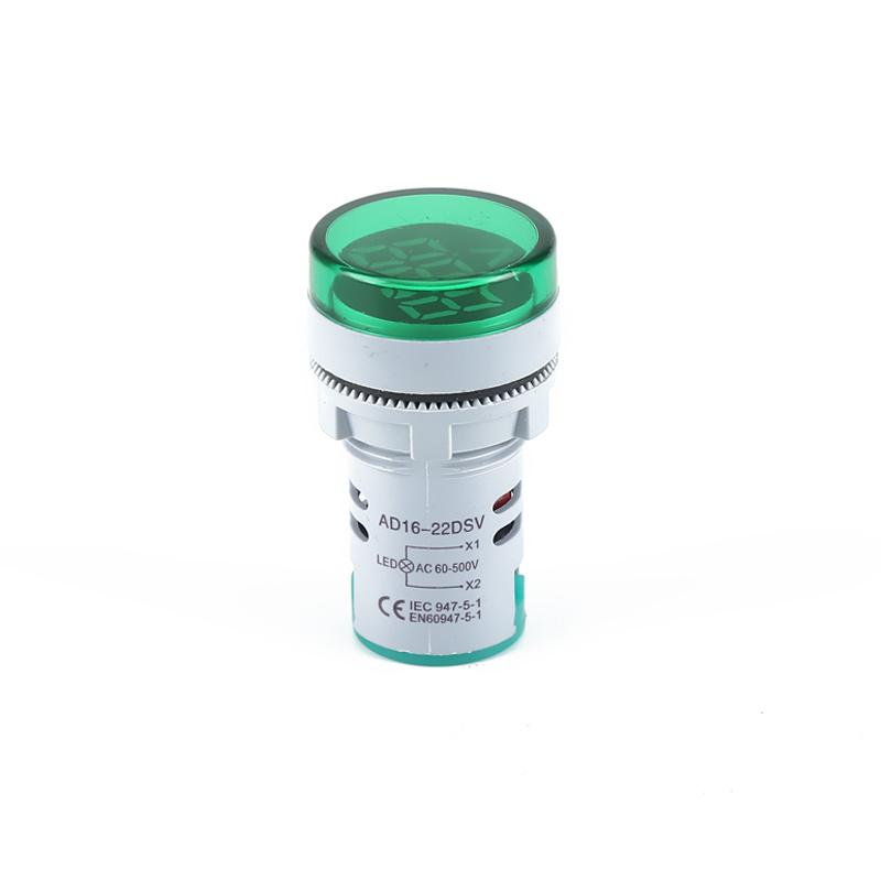 display digital voltmeter lamp digital voltage indicator AD22-22DSV