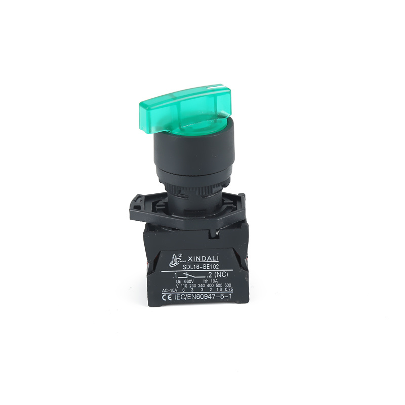 long button with light 3 position industrial joystick switch XDL21-EKJ5365