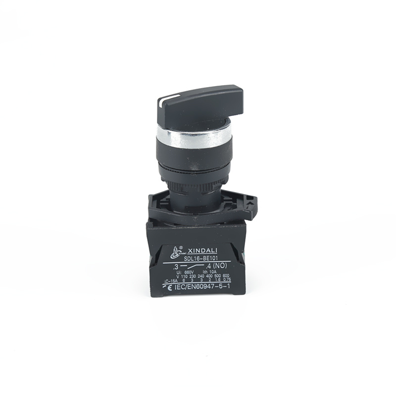 pushbutton selector switch with long handle 3 position ip65 switch XDL21-CJ21