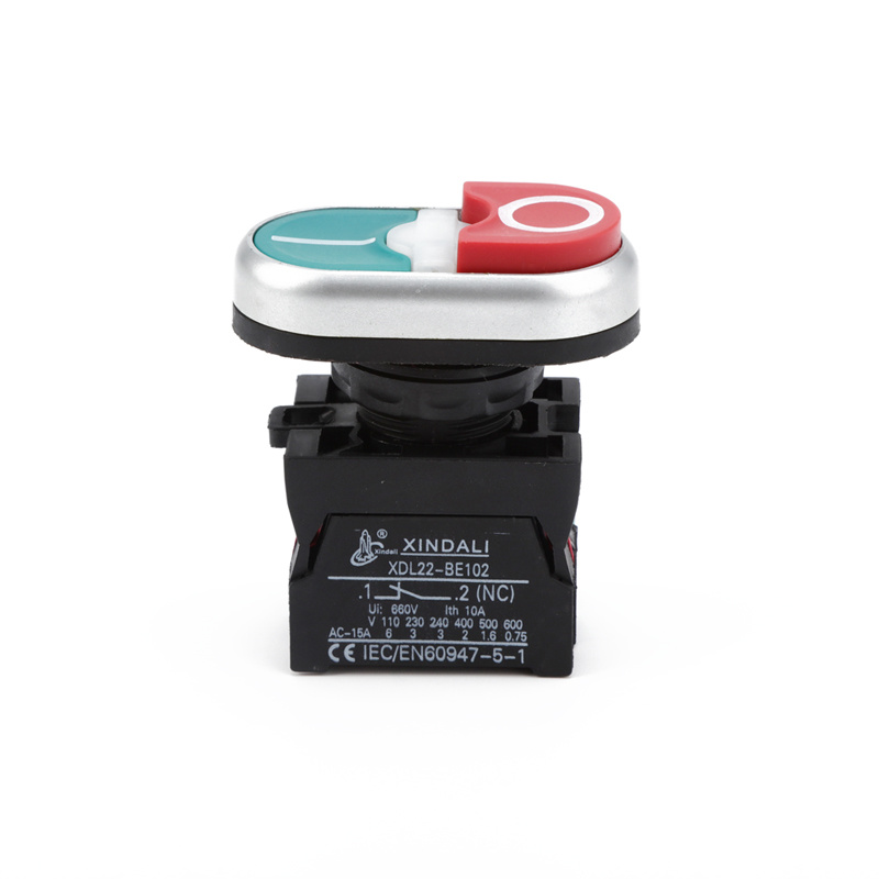 IP67 waterproof switch industrial on off button 220v for lamp XDL22-CBW8465