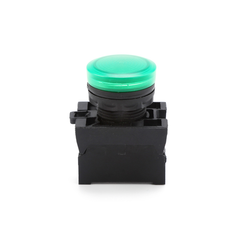 electric Waterproof IP67 mushroom head green pilotlamp pull Push Button Switch XDL22-EV63