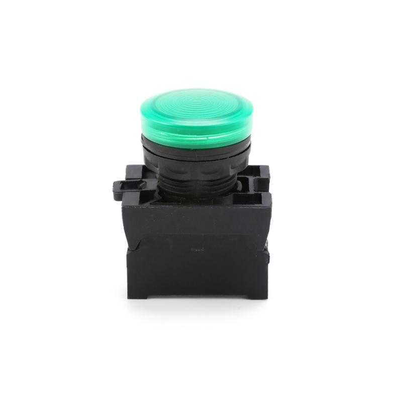 electric Waterproof IP67 mushroom head green pilotlamp pull Push Button Switch XDL22-EV63