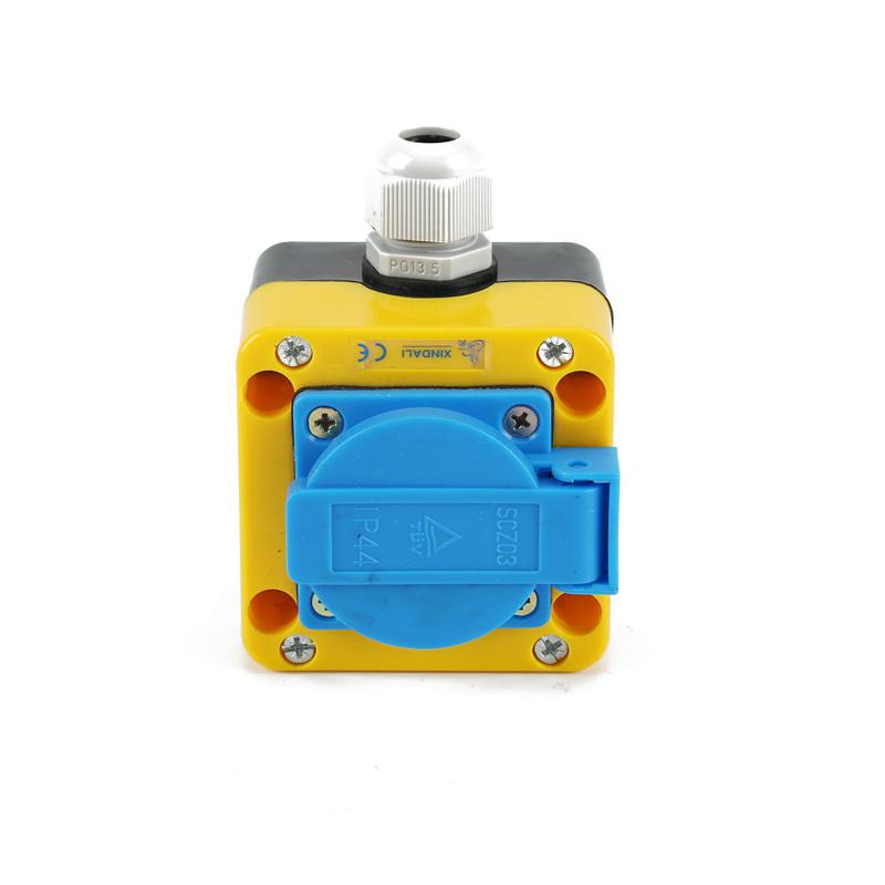 1 flush control station yueqing xindali european socket estop XDL85-JB183P