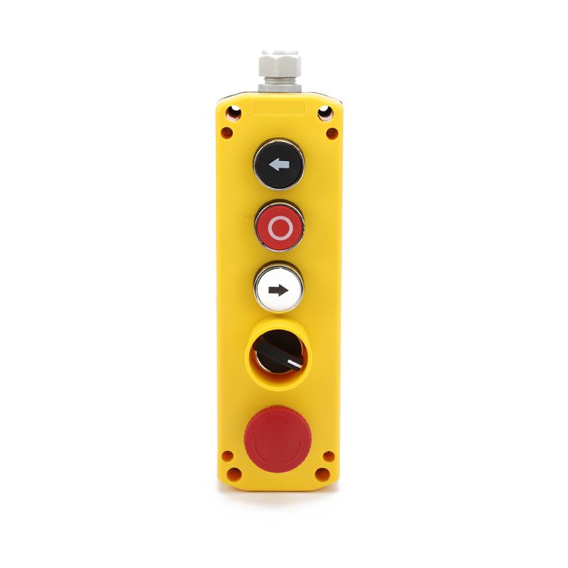 XDL721-JB524P 5 hole joystick remote emergency stop control station box