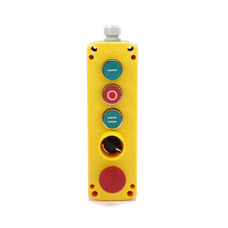 XDL721-JB539P 5 button waterproof joystick remote control for crane box