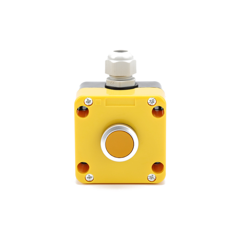 XDL722-JB131P yellow 1 flush push button control pendant box