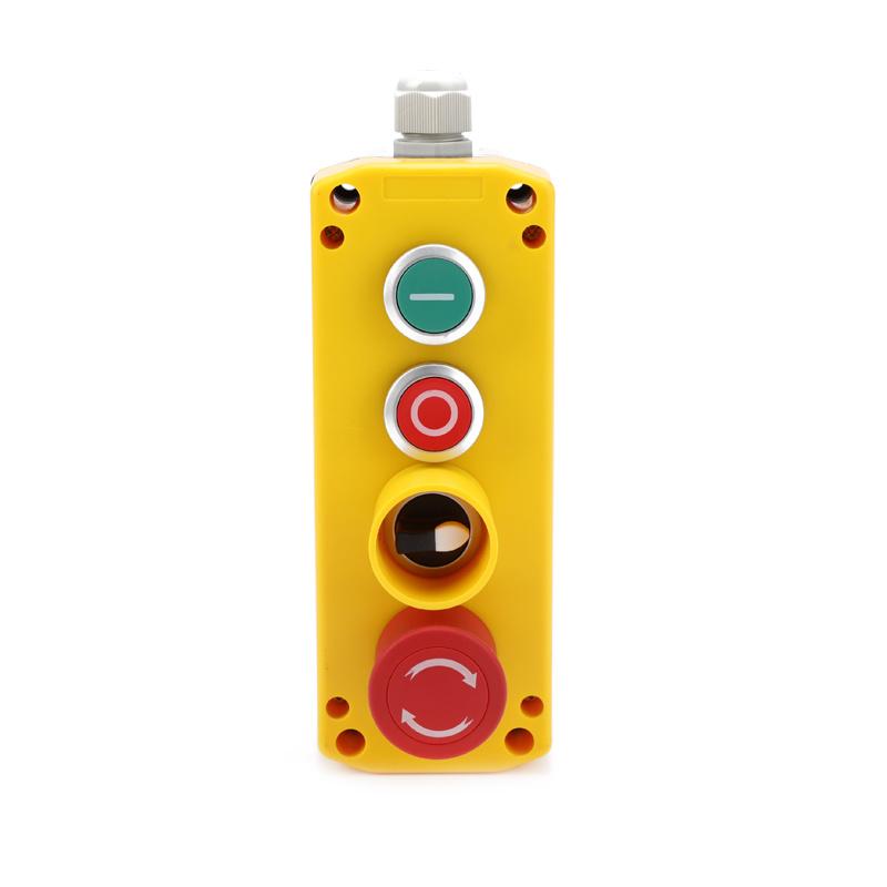 XDL722-JB463P crane remote control ip67 4 button pendant control box