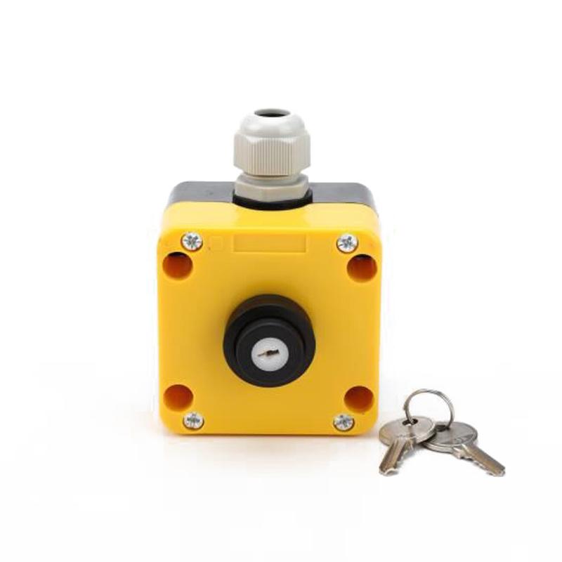 XDL75-JB142P electrical control station control switch box with key