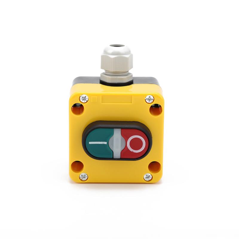 1 holes button box double head push button station control box XDL75-JB195P