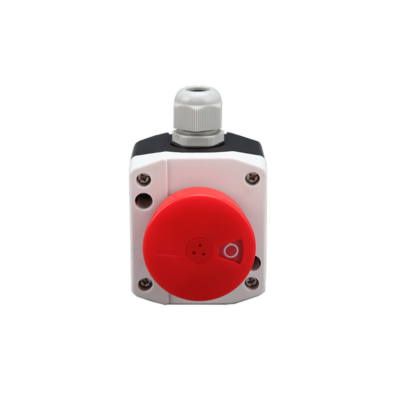 red mushroom ip54 crane pendant control pushbutton box XDL25-B181P
