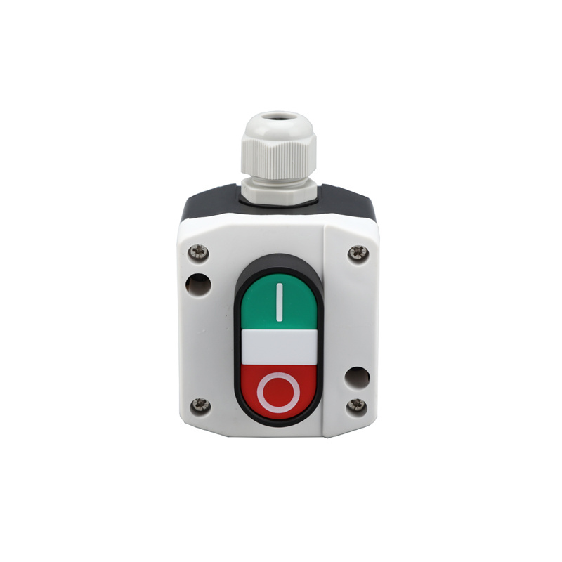 1 holes plastic lay5 double push button station control box XDL25-B195P