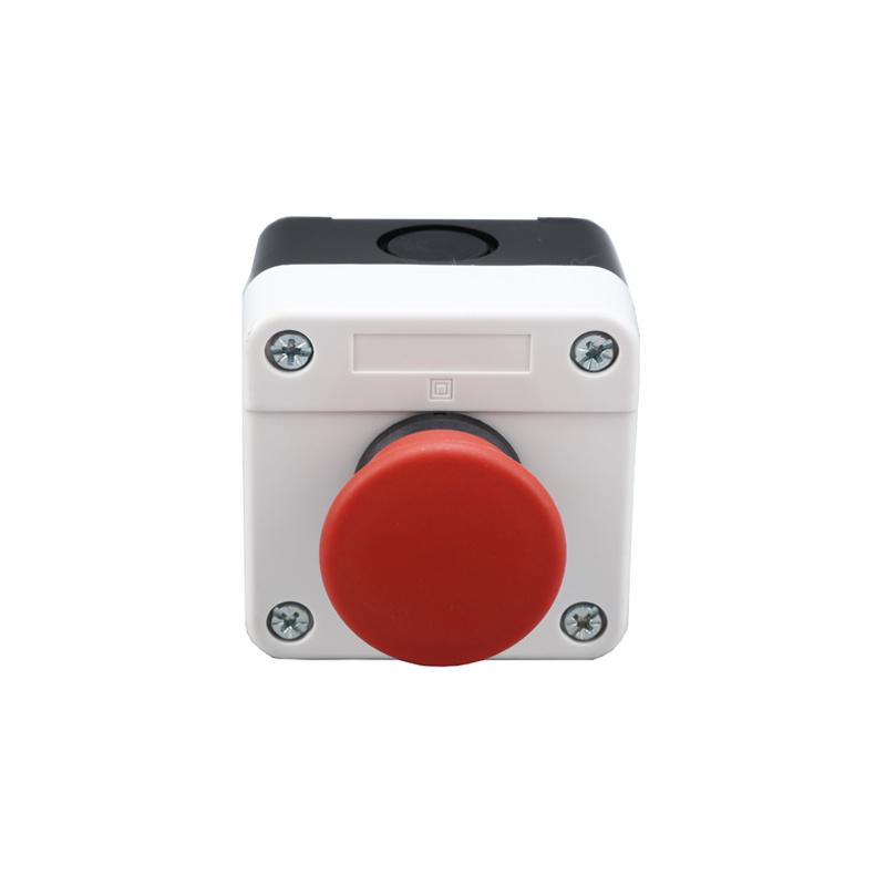 push pull mushroom button estop button waterproof cable box XDL25-B164P