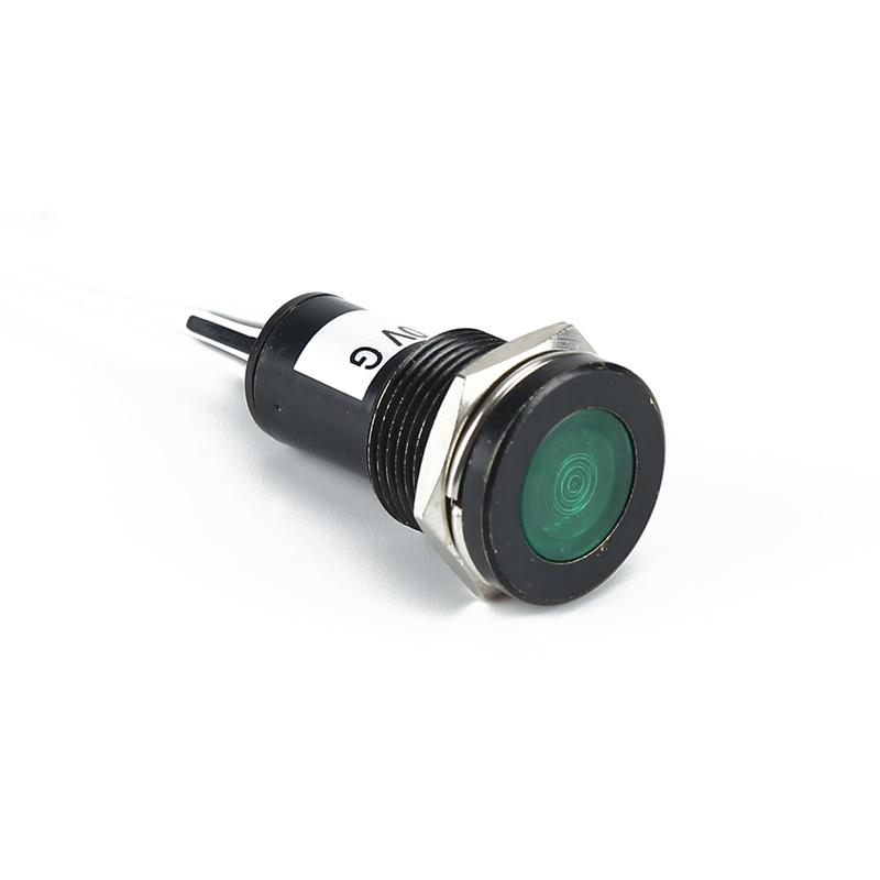 14mm mini green led work lamp 380v led indicator lamp AD22C-14D/L