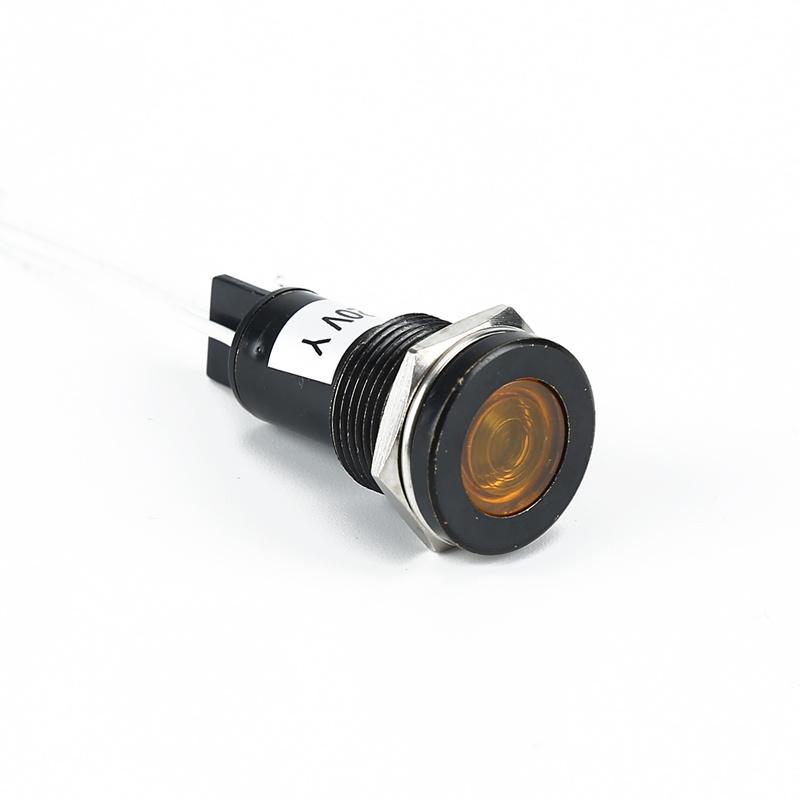 Lámpara indicadora de lámpara indicadora de LED piloto de 16mm Lámparas indicador indicador AD22C-16D / L