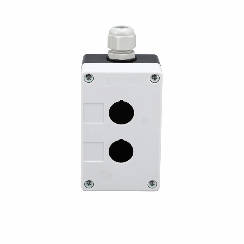 plastic ip54 2 hole on off switch waterproof pushbutton box XDL5-B02P