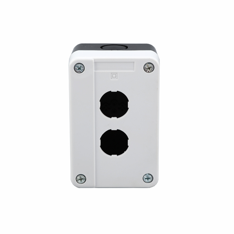 2 hole button plastic quality industrial lift button switch elevator control box XDL5-BE02