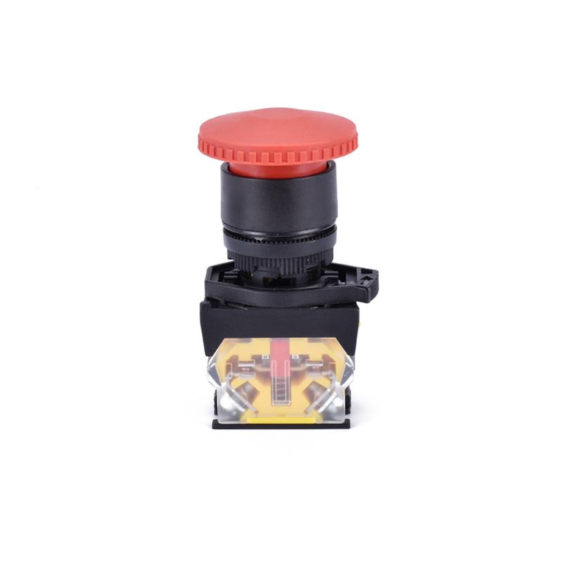 red head mushroom emergency stop plastic push button  XDL31-EC42
