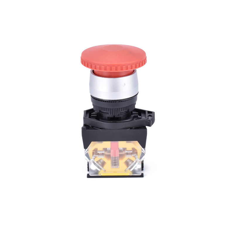 button mushroom equipment electric push pull button switch XDL31-BC42