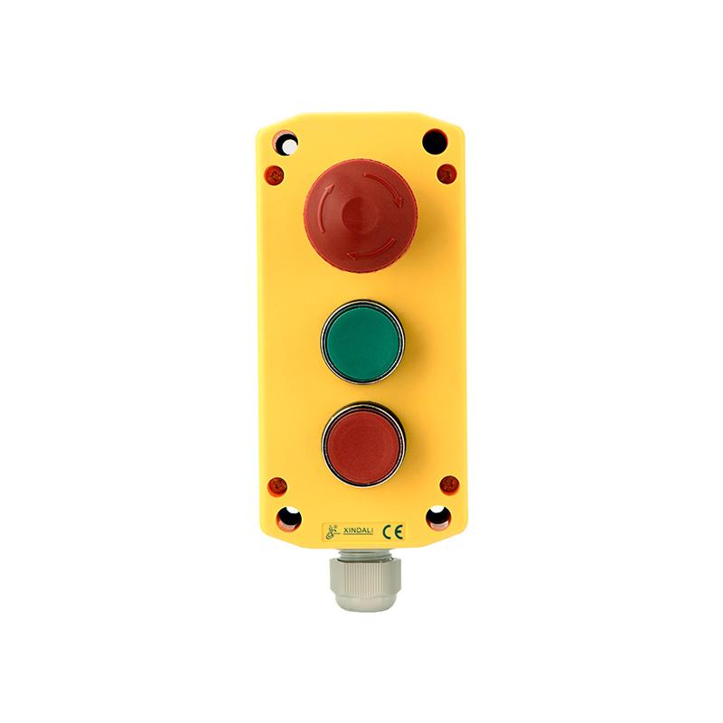 3 Holes Elevator Controller Enclosure Emergency Remove Control Box XDL721-JB361P