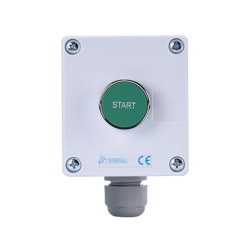 metal button plastic enclosure remote control single control switch box XDL55-BB103P