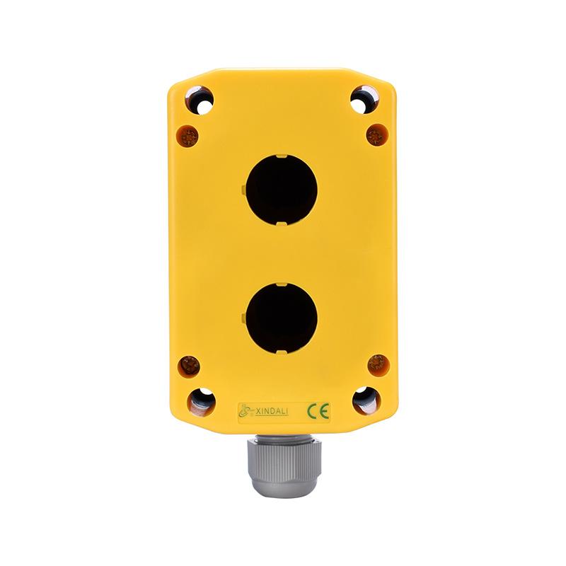 2 holes plastic instrument enclosures push button switch box XDL7-JB02P