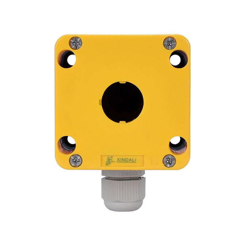 push button control box parts waterproof box with cable XDL7-JB01P