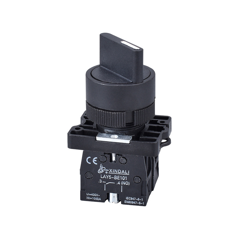 XB2(LAY5) series 3 position rotary selector push button switch LAY5-ED45
