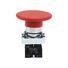 metal 60mm big red mushroom head push button switch LAY5-BR42