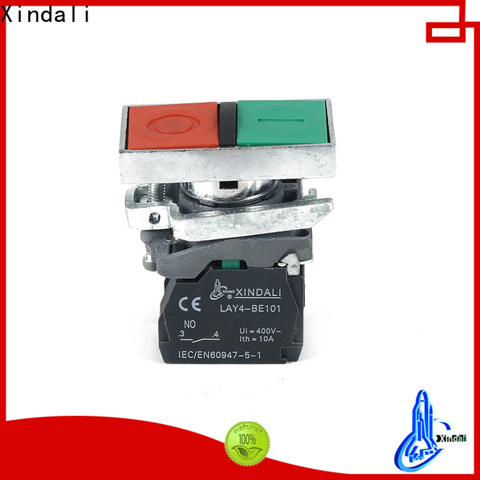 Customized industrial push button wholesale for controlling signal and interlocking purposes