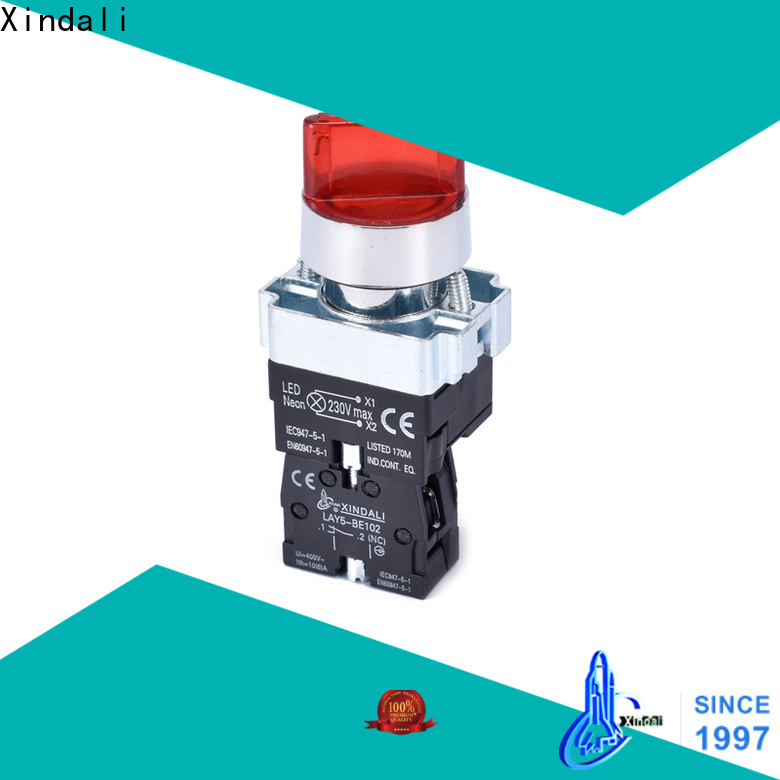Xindali push button switch cost for electronic equipment