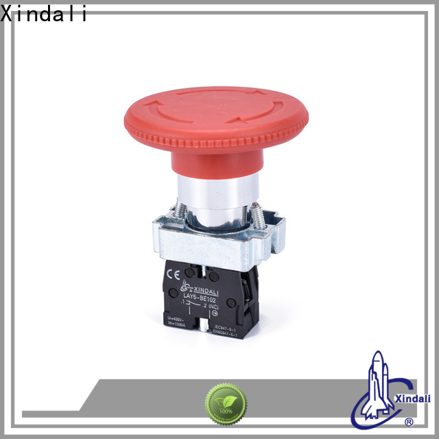 Custom push switch supply for electronic equipment
