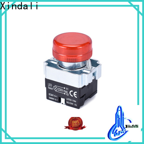 Xindali Latest momentary push button switch manufacturers for horne button switch