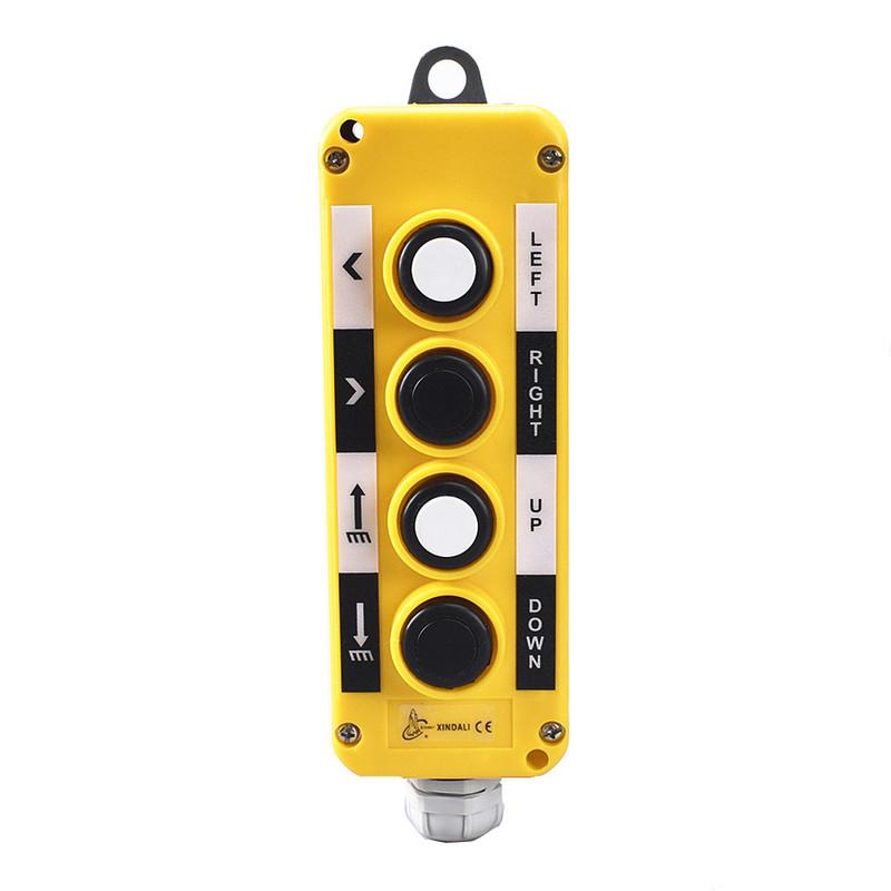 4 way control station crane ip56 push button control box XDL10-EPB4