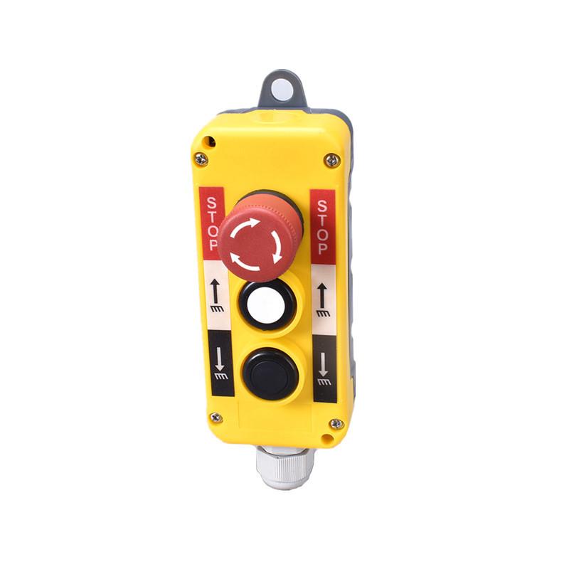 electric 3 button remote control circle push button switch box XDL10-EPBS3