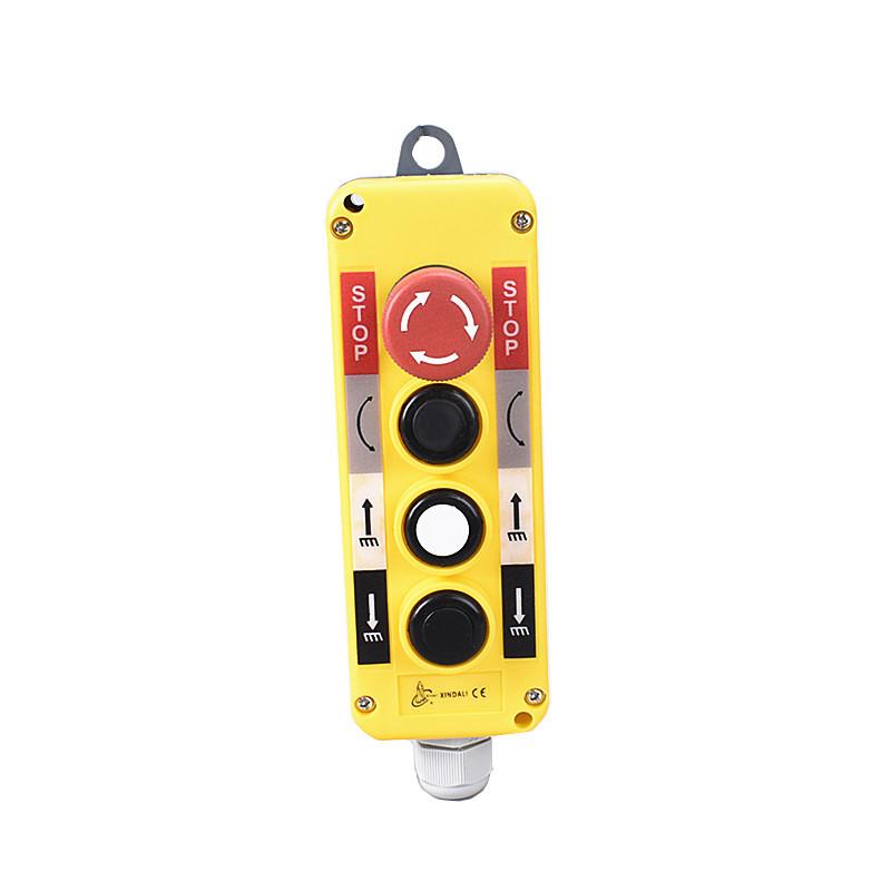 4 button crane mushroom push button switch control box XDL10-EPBS4