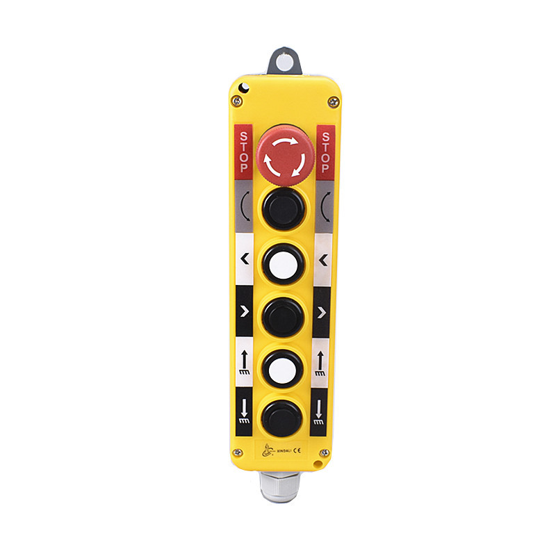 6 button box waterproof lifting button control switch station XDL10-EPBS6