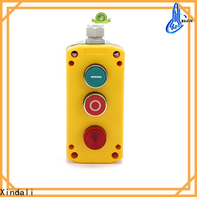 Xindali weatherproof push button station for sale for power distribution box