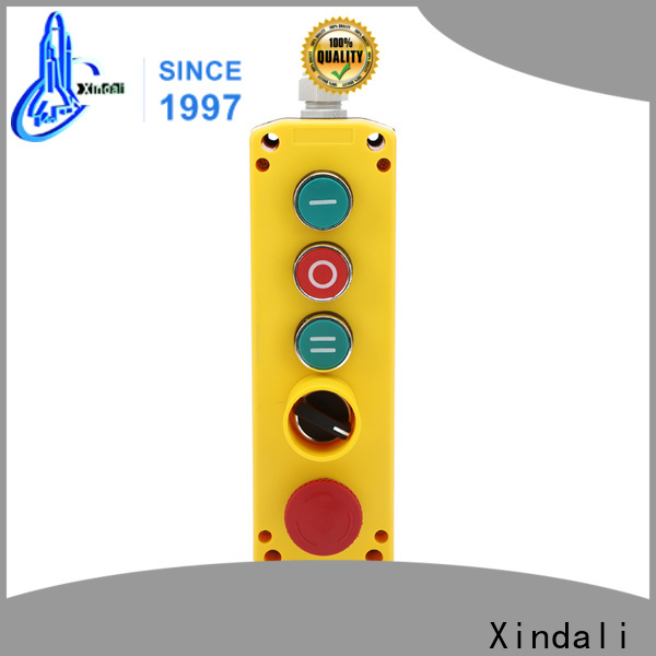 Xindali start stop push button station cost for power distribution box