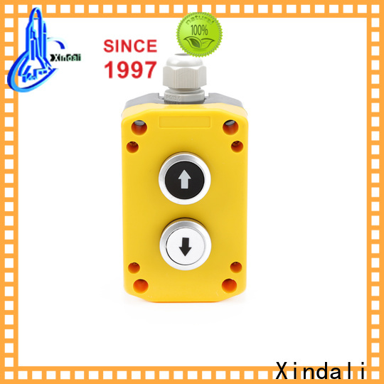 Xindali momentary push button switch factory price for power distribution box
