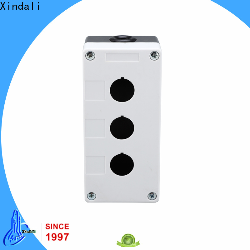 Xindali push button box vendor for mechanical device