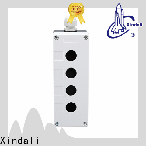 Xindali push button box manufacturers for mechanical device