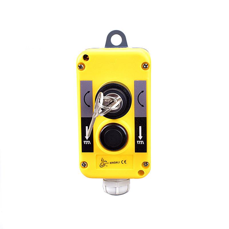 waterproof key remote station crane push button plastic control box XDL10-EPBG2